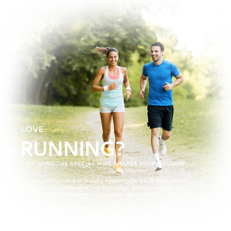 Love Running, find someone who loves it too